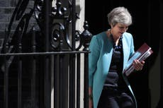 May struggles to suppress Brexit row ahead of crunch cabinet meeting