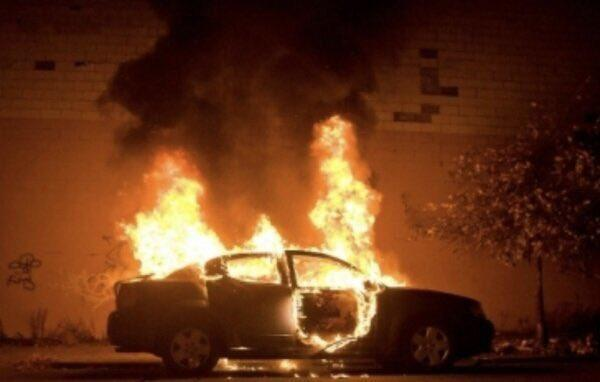 Saudi woman's new car set on fire by young men who harassed her