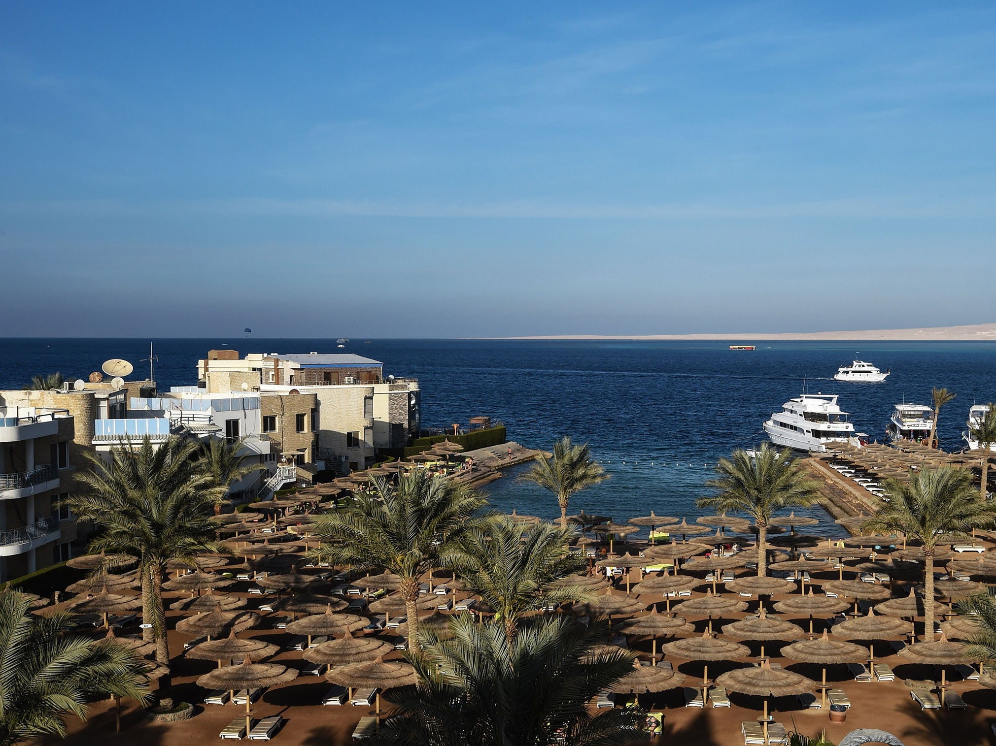 British mother dies after being thrown out of banana boat at same Egyptian resort where couple mysteriously died
