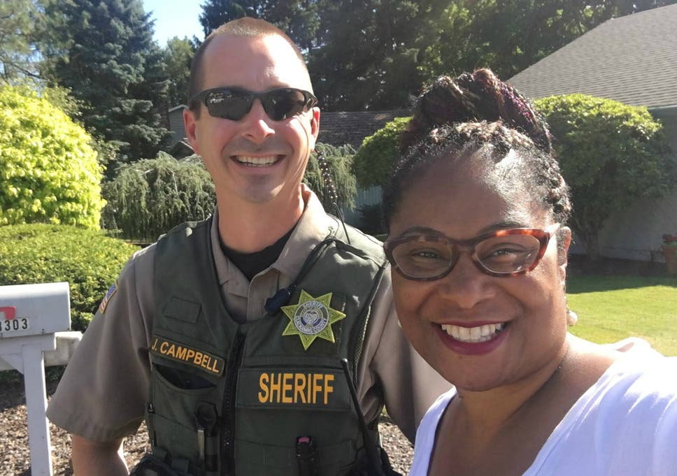 Voter calls police on black politician campaigning door-to