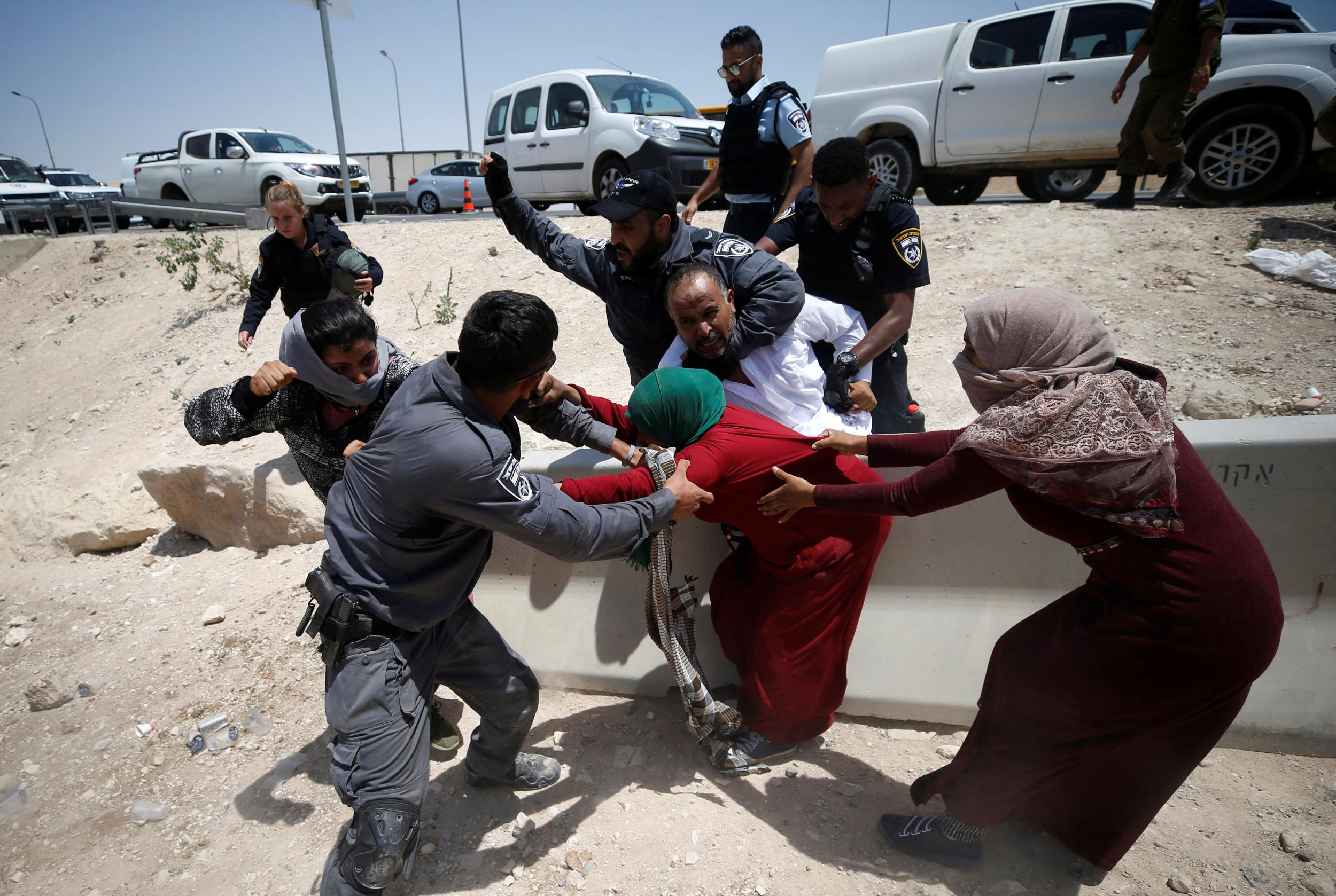 Israel bars diplomats from visiting Bedouin Palestinian village slated for demolition