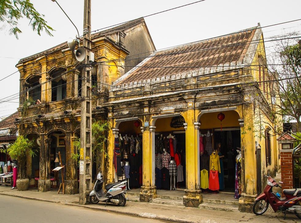 Hoi An is Vietnam's tailoring capital
