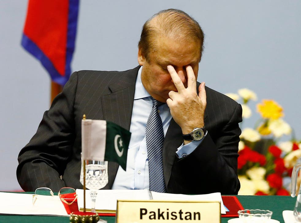 Nawaz Sharif was sentenced to 10 years in prison by a Pakistani anti-corruption court