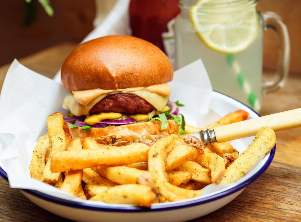 The Beyond Burger was reverse engineered to create the taste and texture of meat out of plants