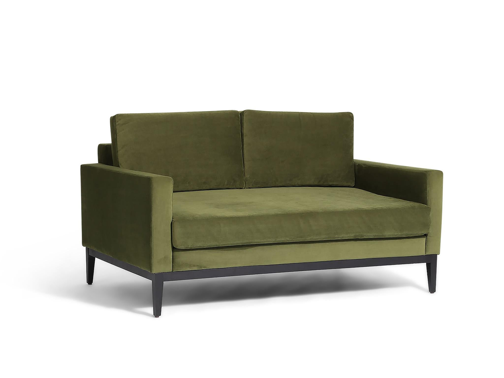 6 Best 2 Seater Sofas The Independent Olive House Sofabed Fabric Lux Grey Lombok Karlsson Two Sofa In Vintage Velvet Jade 1495