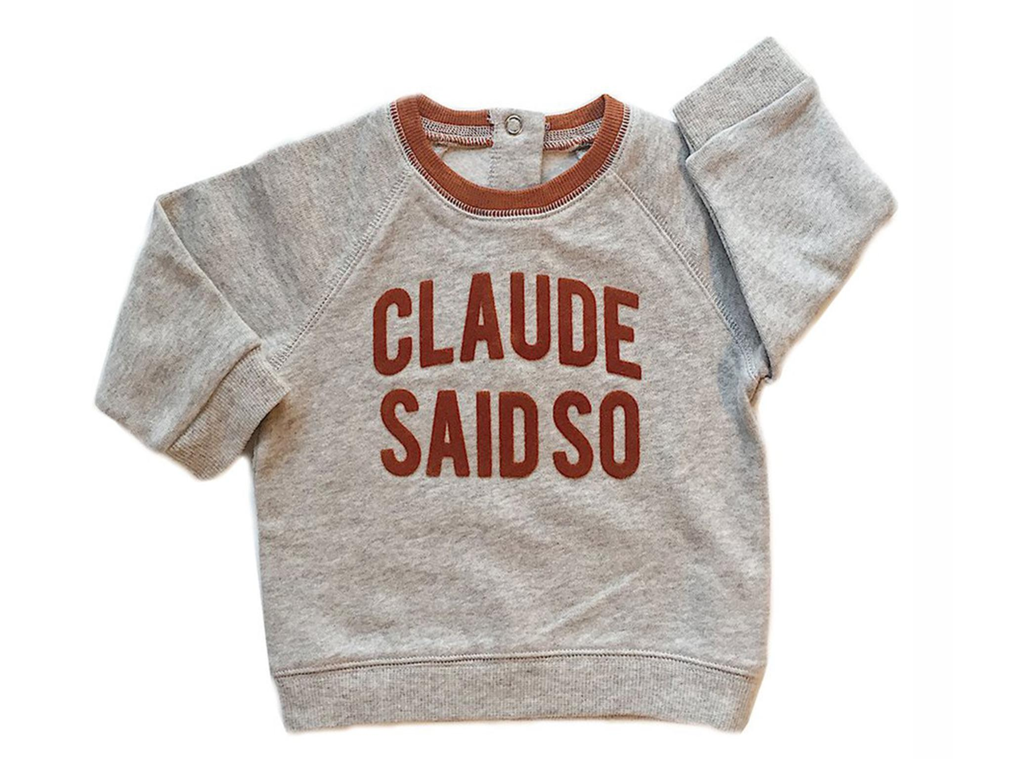 10 Best Brands For Gender Neutral Baby Clothes The Independent Mom N Bab Sweater Orange Fox Softest Sweatshirt Babies And Toddlers Its 100 Cotton Brushed Fleece Inside Which Means It Feels Like Velvet There Are Poppers At Neck