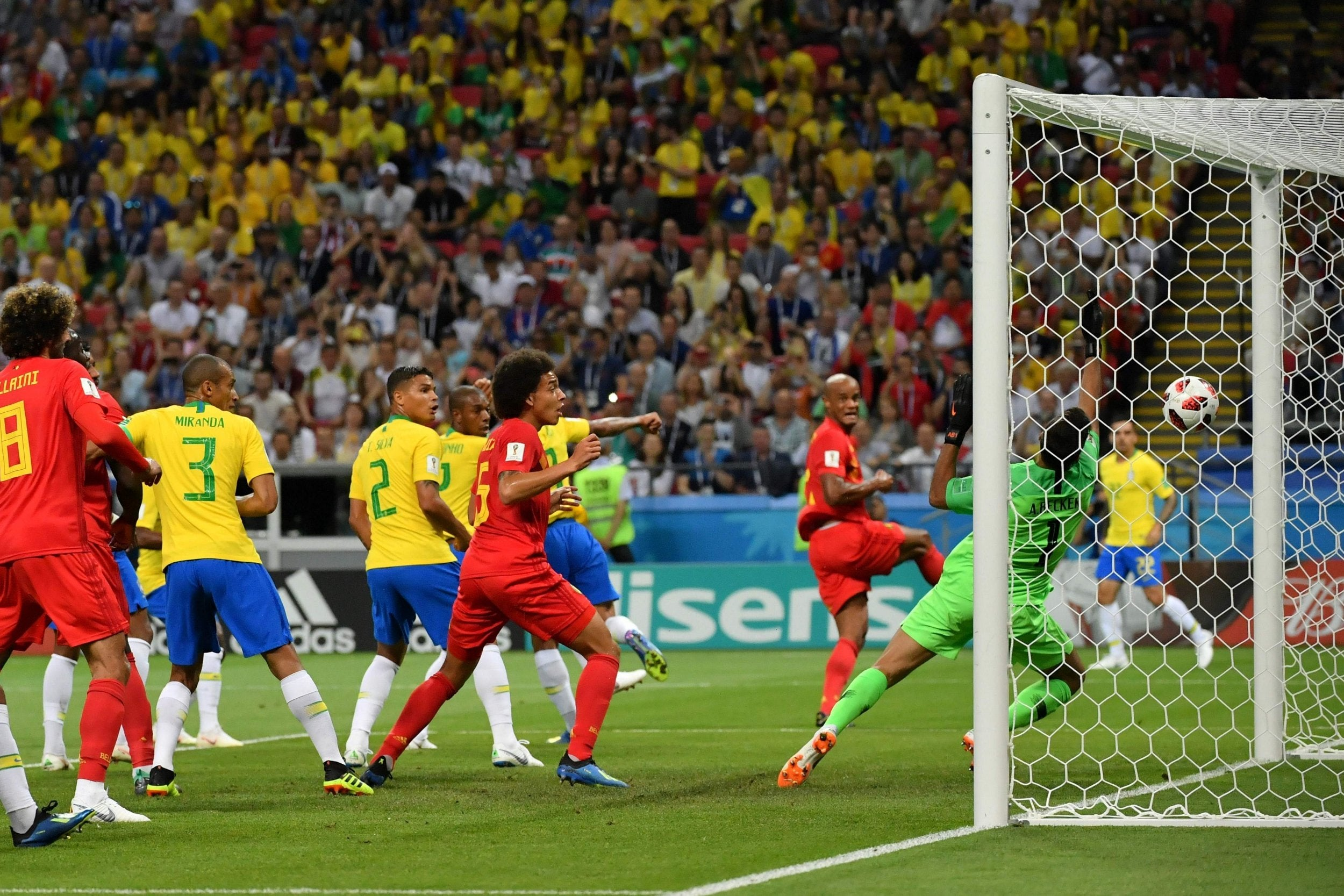 Brazil take out as Belgium win 2-1 to move to semi final-with France