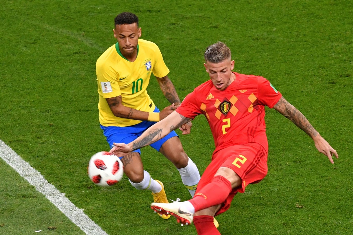 World Cup Final Four: France vs Belgium Predictions