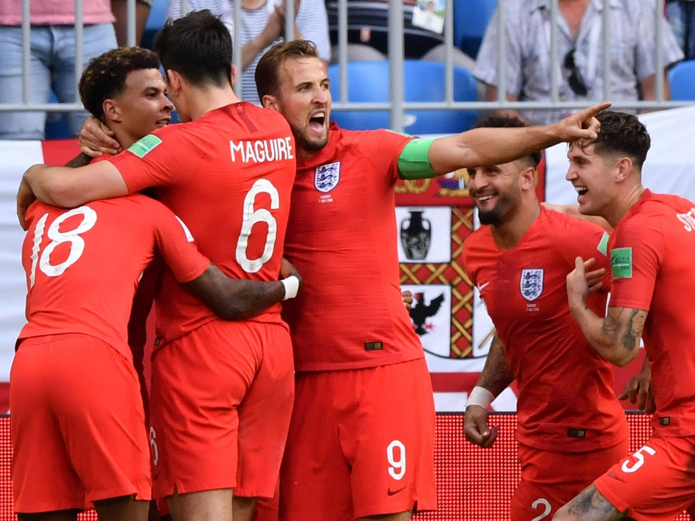 a2460223e9f England vs Sweden LIVE World Cup 2018: England into semi-finals - final  score, latest reaction and highlights | The Independent