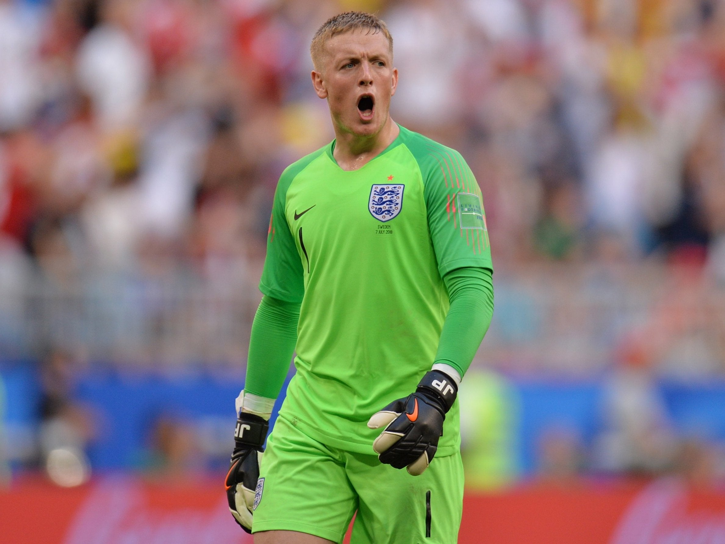 England Vs Sweden: Jordan Pickford On His World Cup