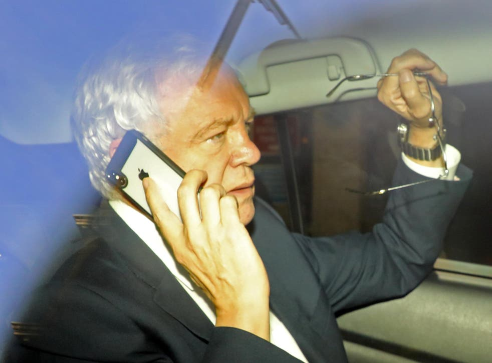 David Davis, former Secretary of State for Exiting the European Union