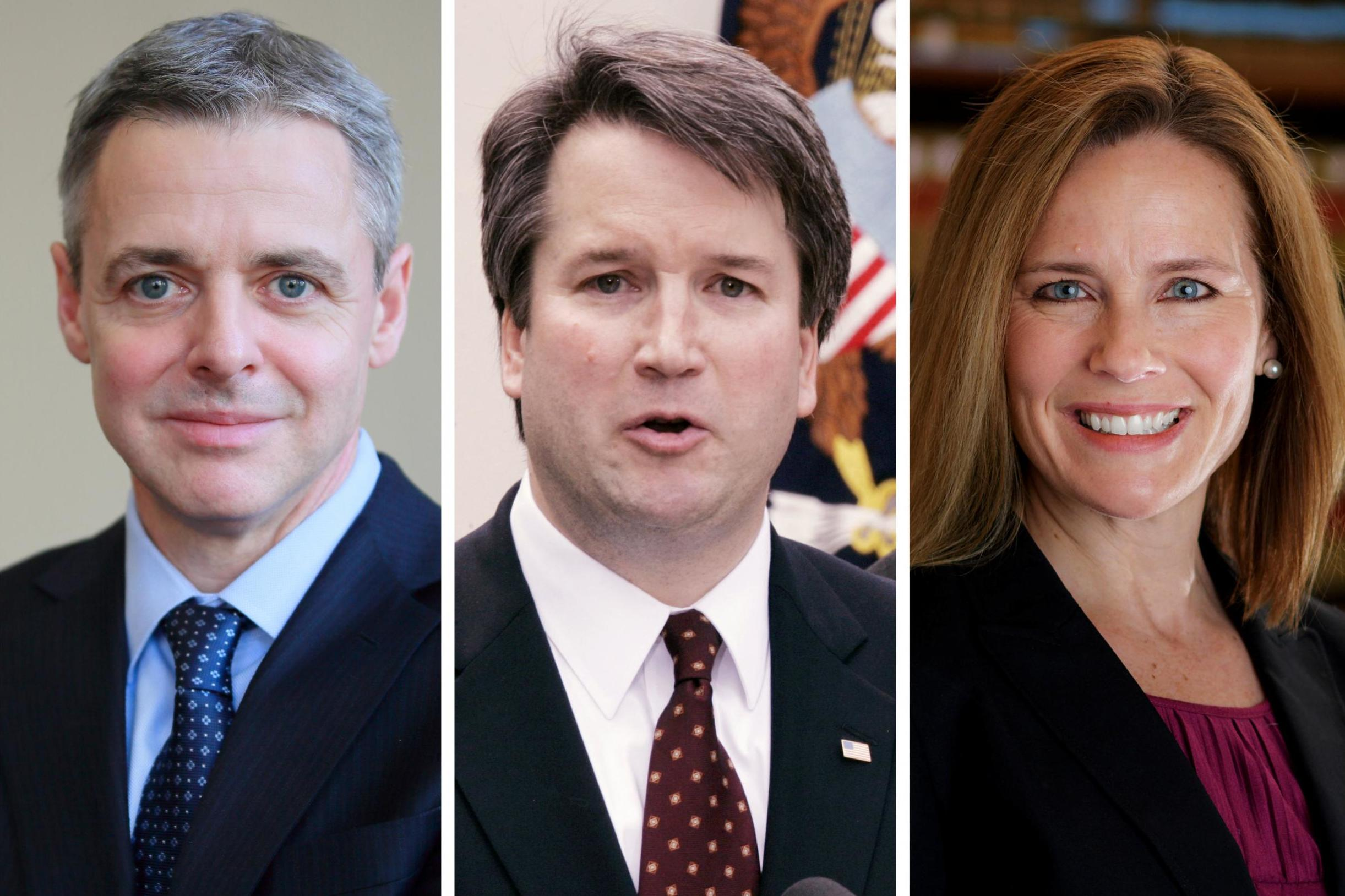 Supreme Court nominees: Everything you need to know about Trump's top three SCOTUS candidates