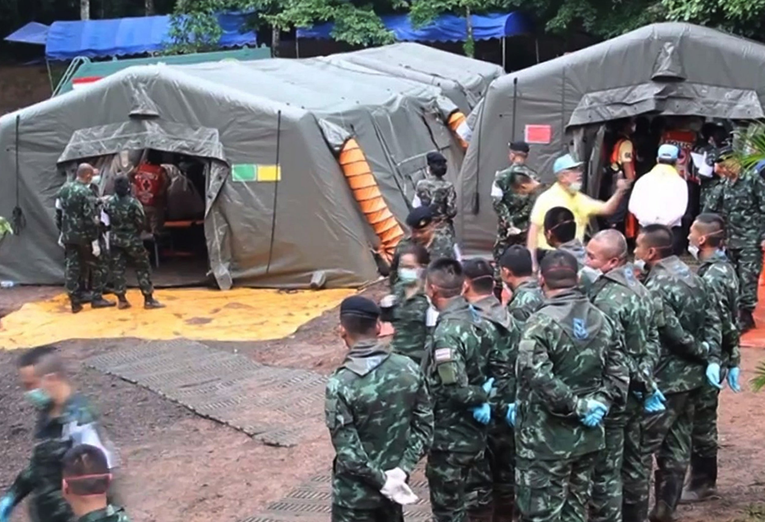 Thailand cave rescue: Final five to be brought out 'tomorrow' ahead of forecast storms