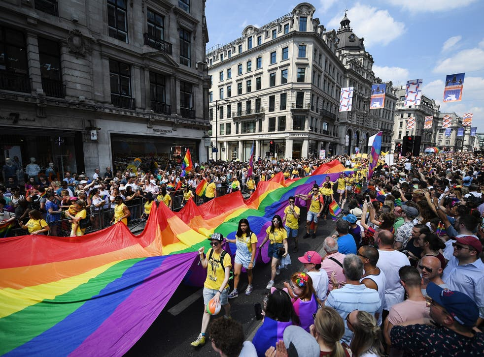 Tolerance of gay relationships has risen, and three-quarters of Remain backers now say gay people deserve equal rights
