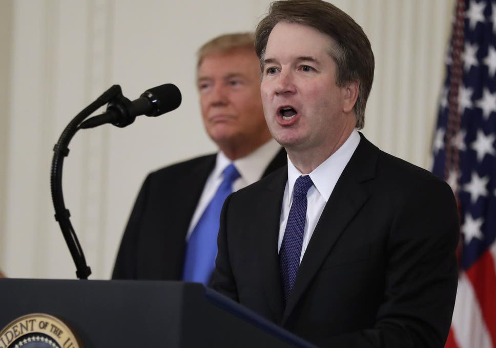 Trump revealed Brett Kavanaugh as his pick to replace the retiring Anthony Kennedy on a body which is more than America's highest judicial bench
