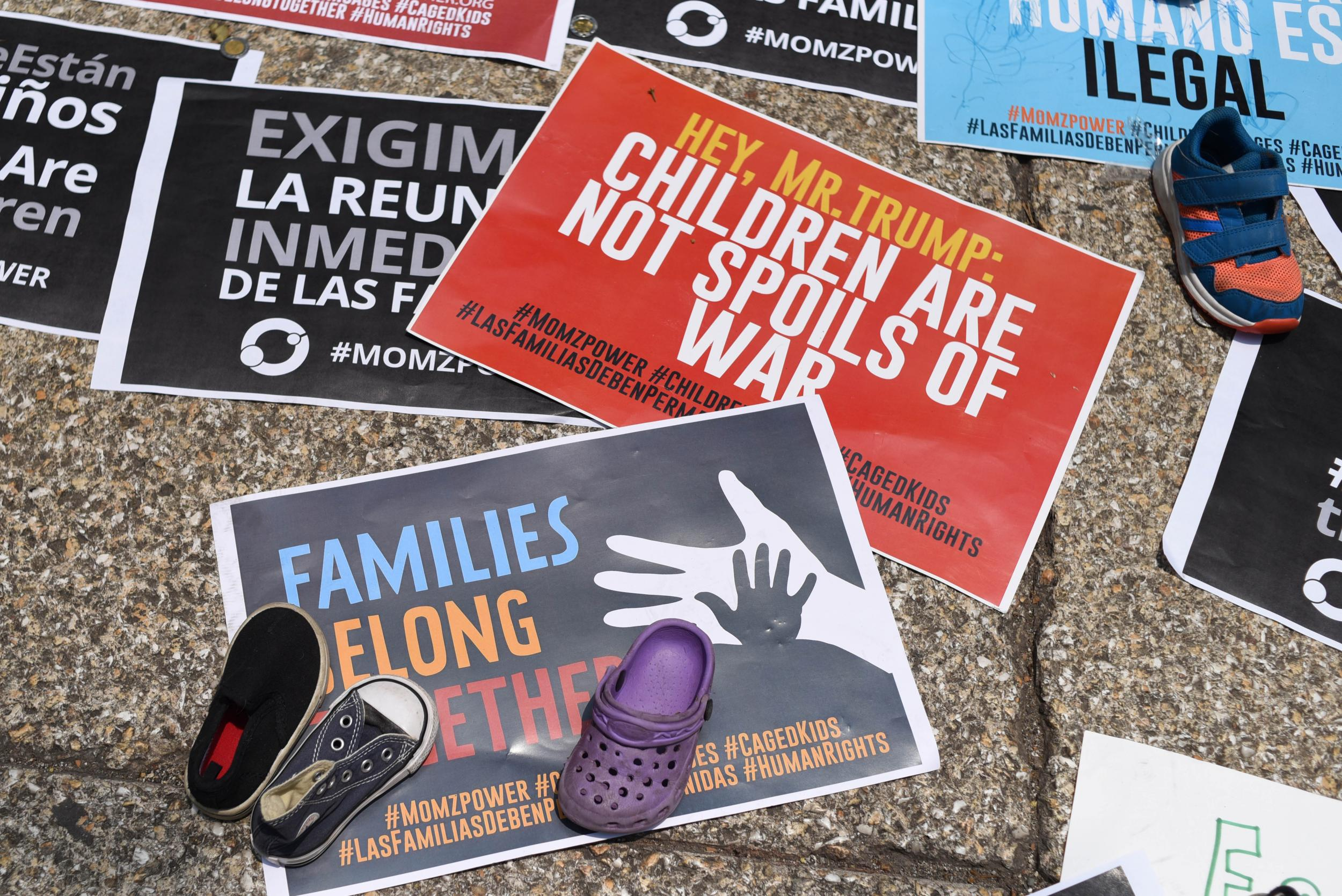 Migrant parents were coerced into signing away family reunification rights, court filing says
