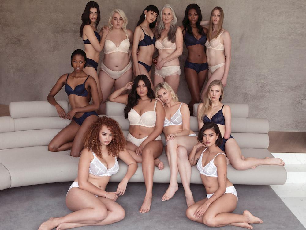 d88414d95 Figleave s campaign against Victoria s Secret comment on plus women and  trans. pictured is various women