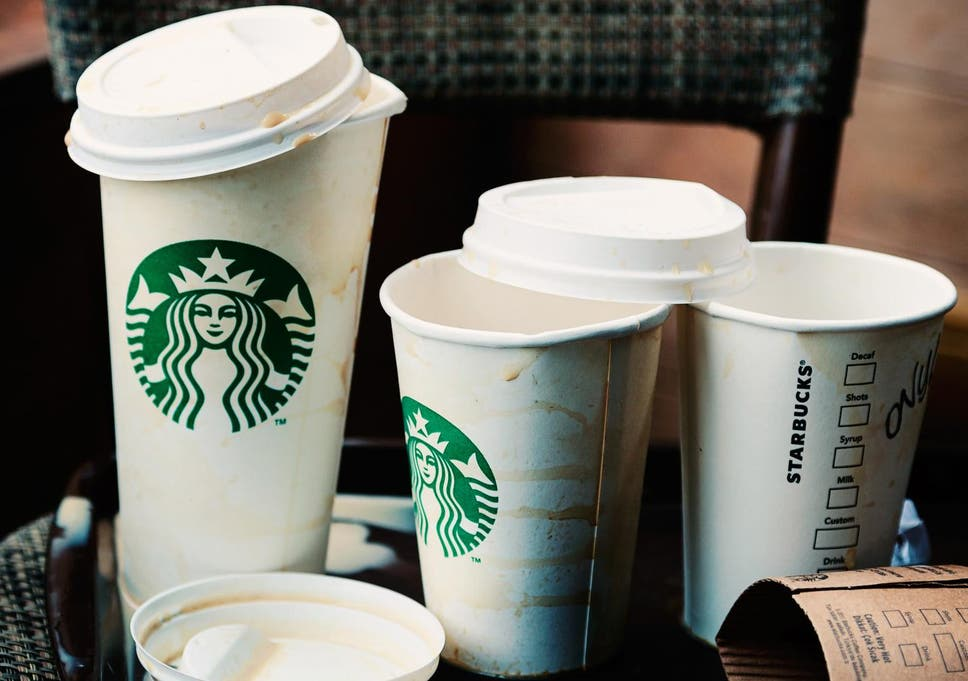 f9bb1ab5159 Starbucks launches 5p cup charge across all British outlets to cut plastic  waste