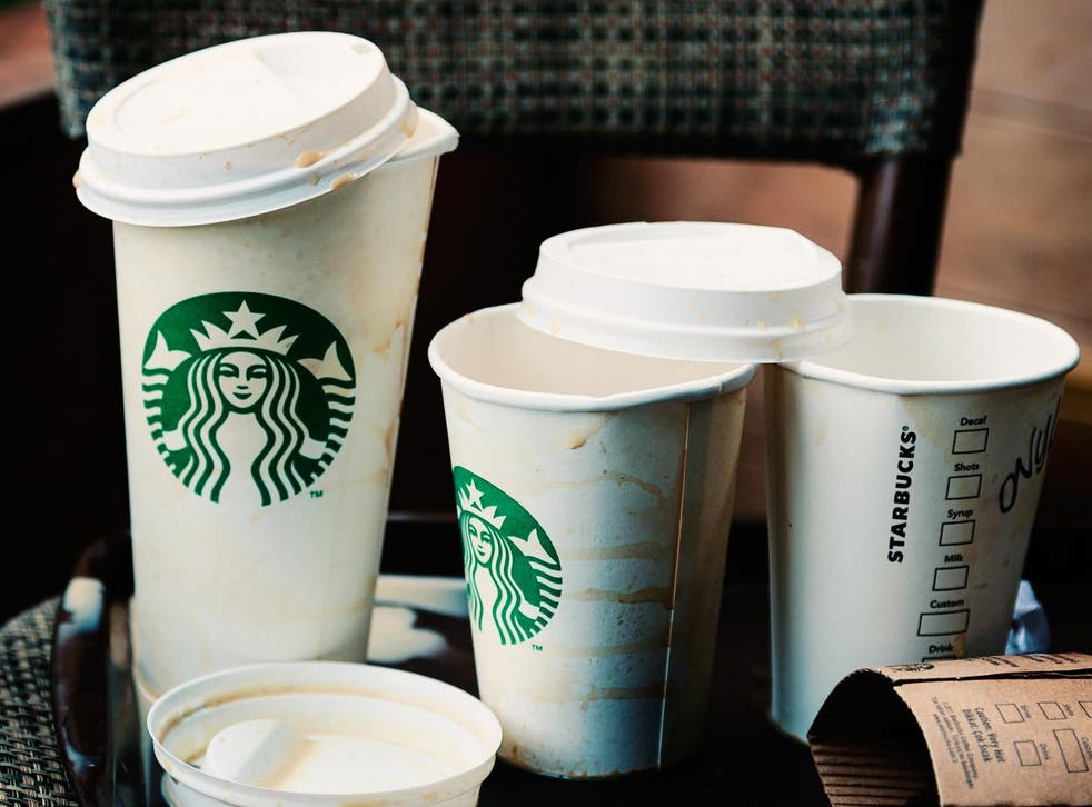 The coffee outlet is trying to cut down on the enormous quantity of disposable coffee cups discarded in Britain every year
