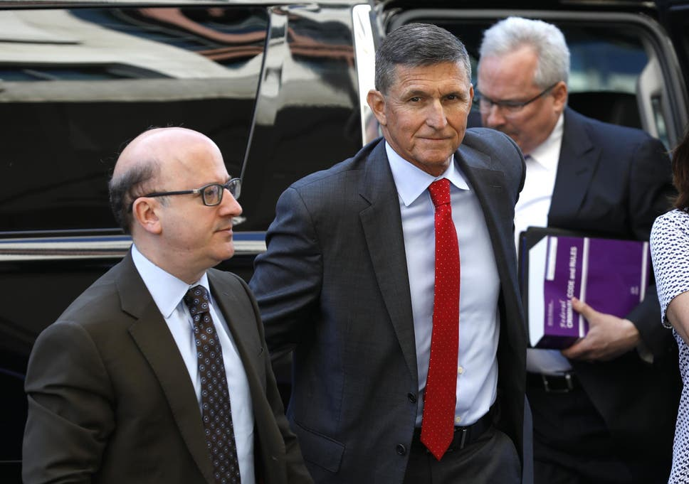 Michael Flynn 'eager to proceed to sentencing' on charges in Russia
