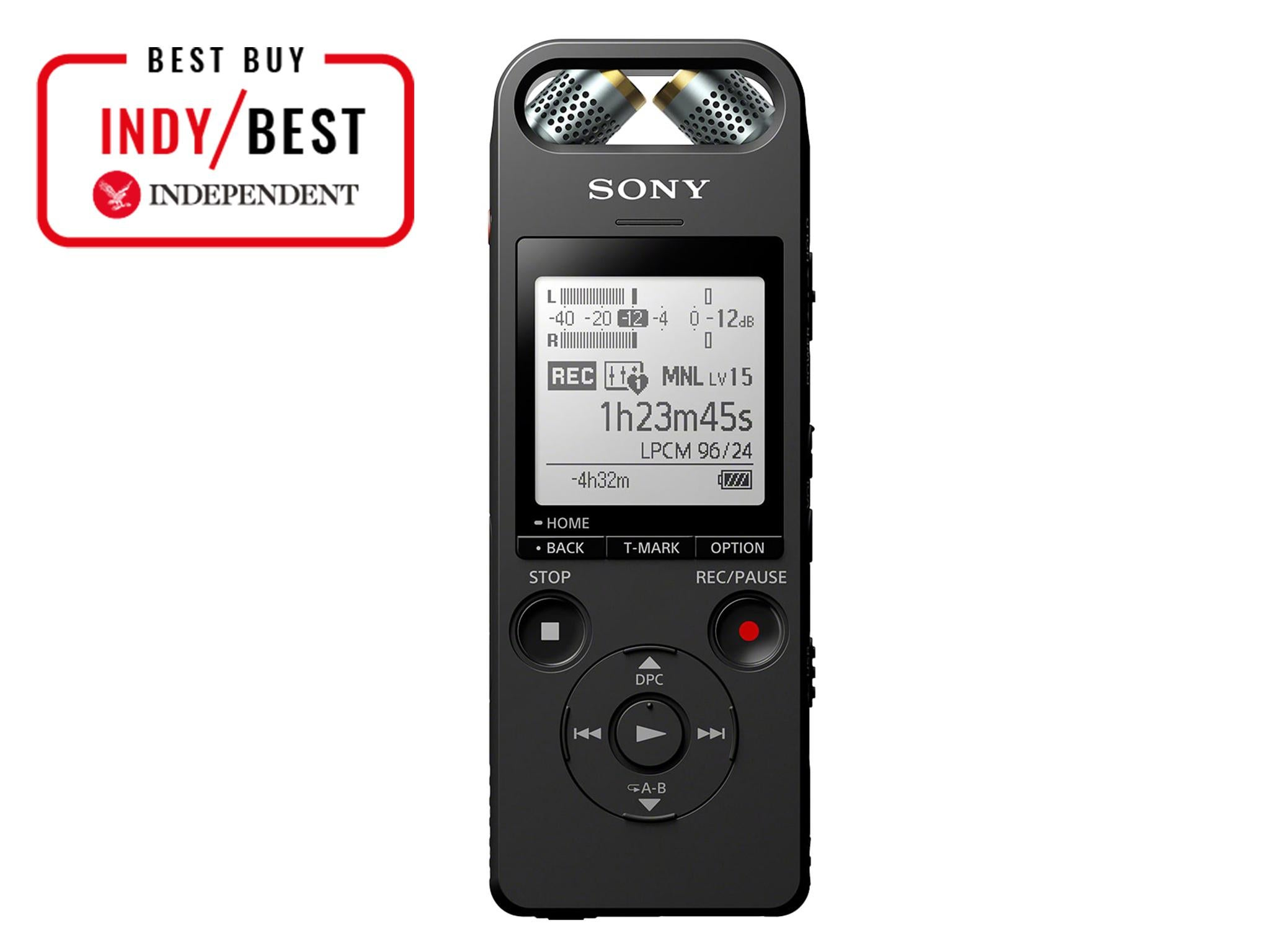 10 best dictaphones the independent rh independent co uk Sony DAV HDX576WF Manual Sony Manuals PDF