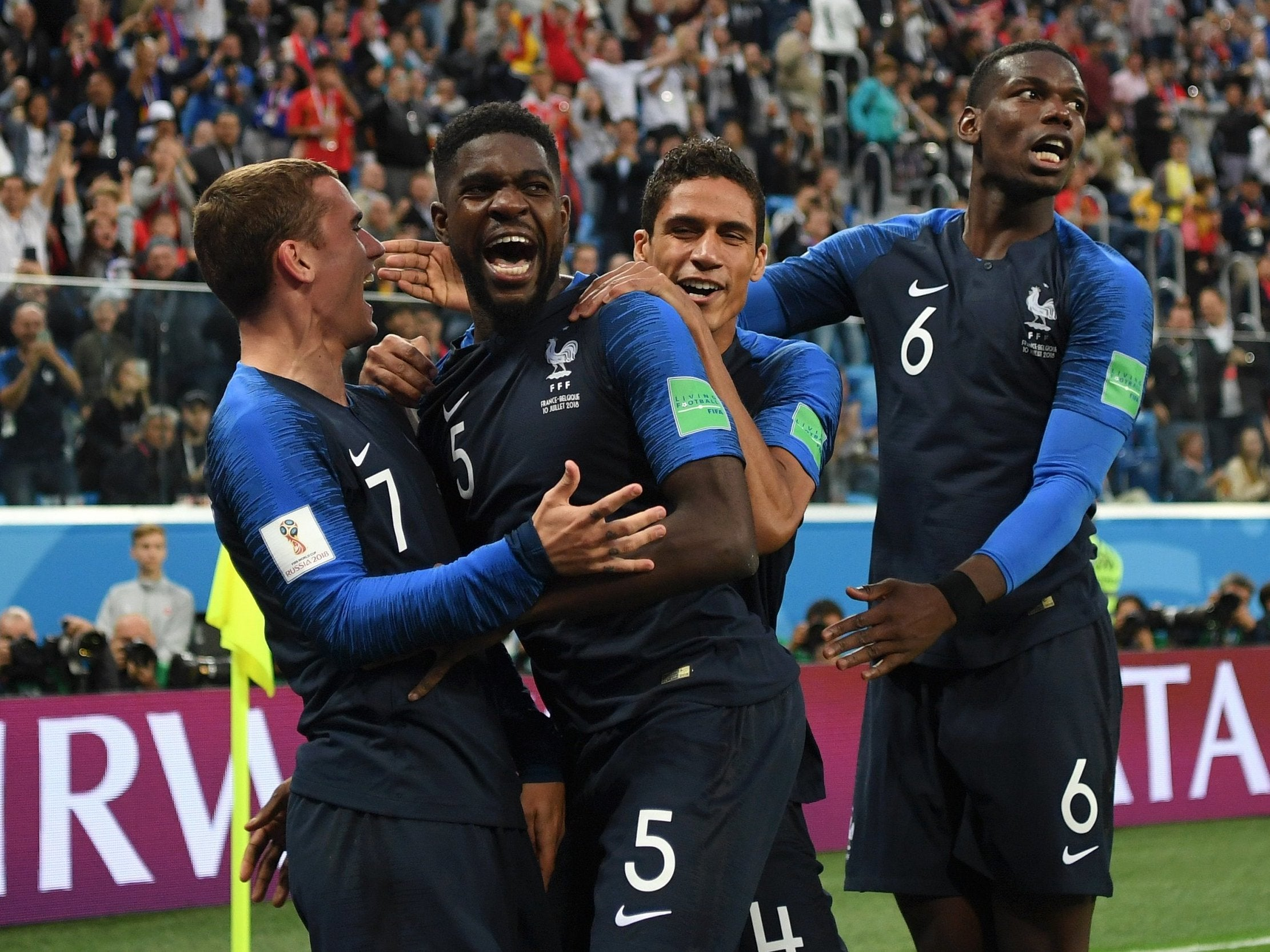France vs Belgium LIVE World Cup 2018  France into World Cup final - latest  reaction from St Petersburg  7618e1f91483c