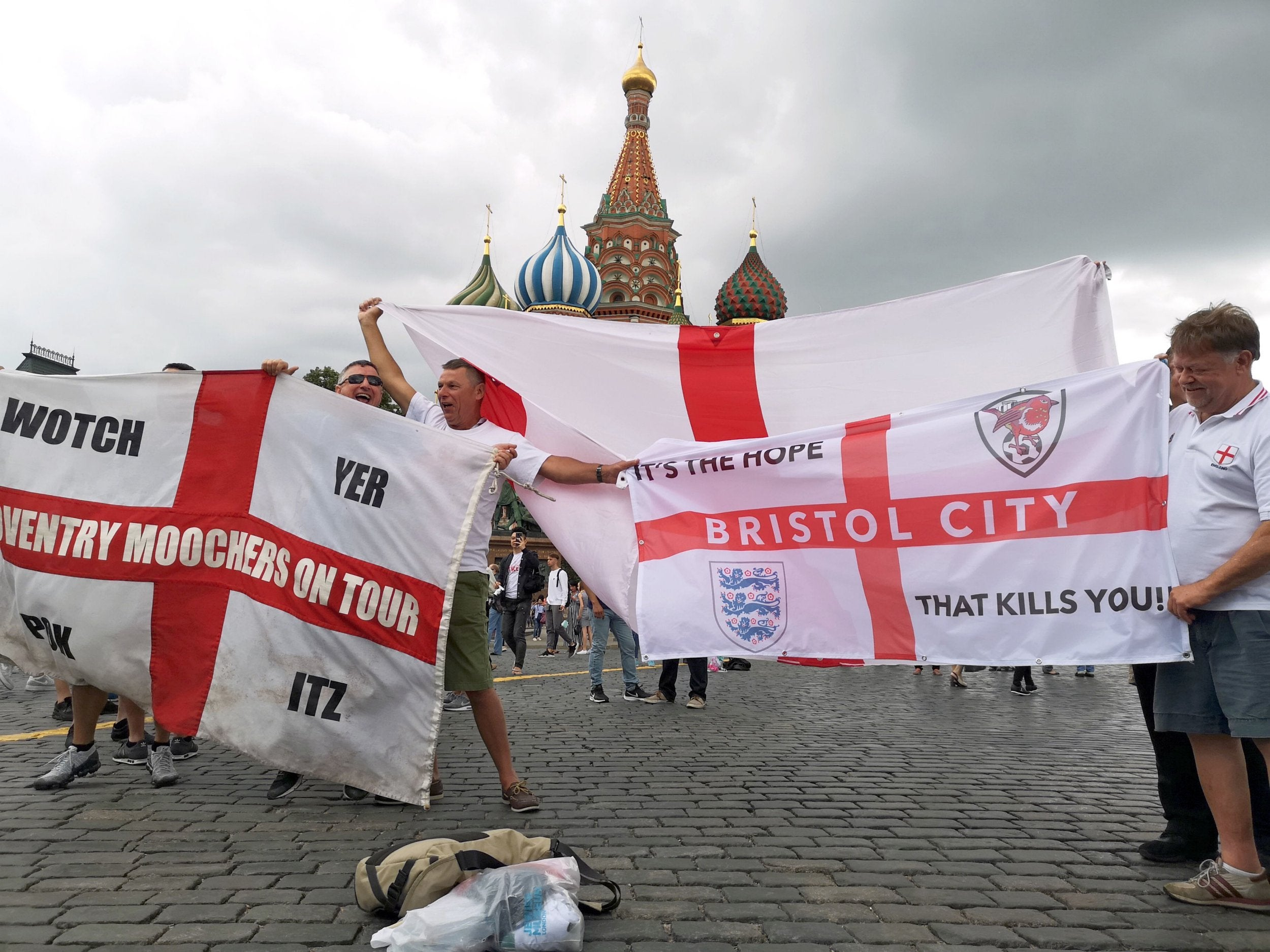 World Cup 2018: Why Russians might be be supporting England - despite Croatia being Slavs