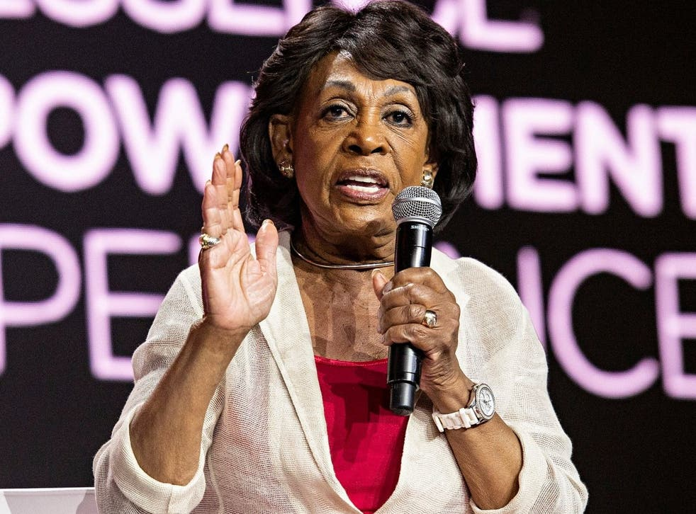 <p>Maxine Waters has called for an investigation into the events on 6 January 2021 on Capitol Hill</p>