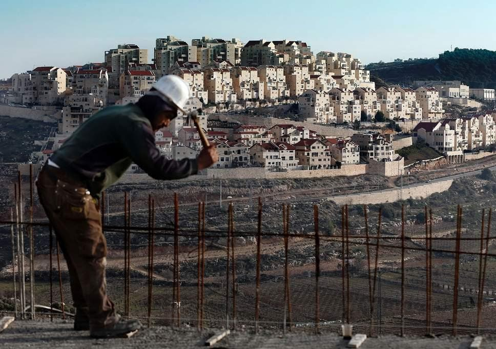 The construction of another 1,000 properties is planned by the Israeli government in the West Bank