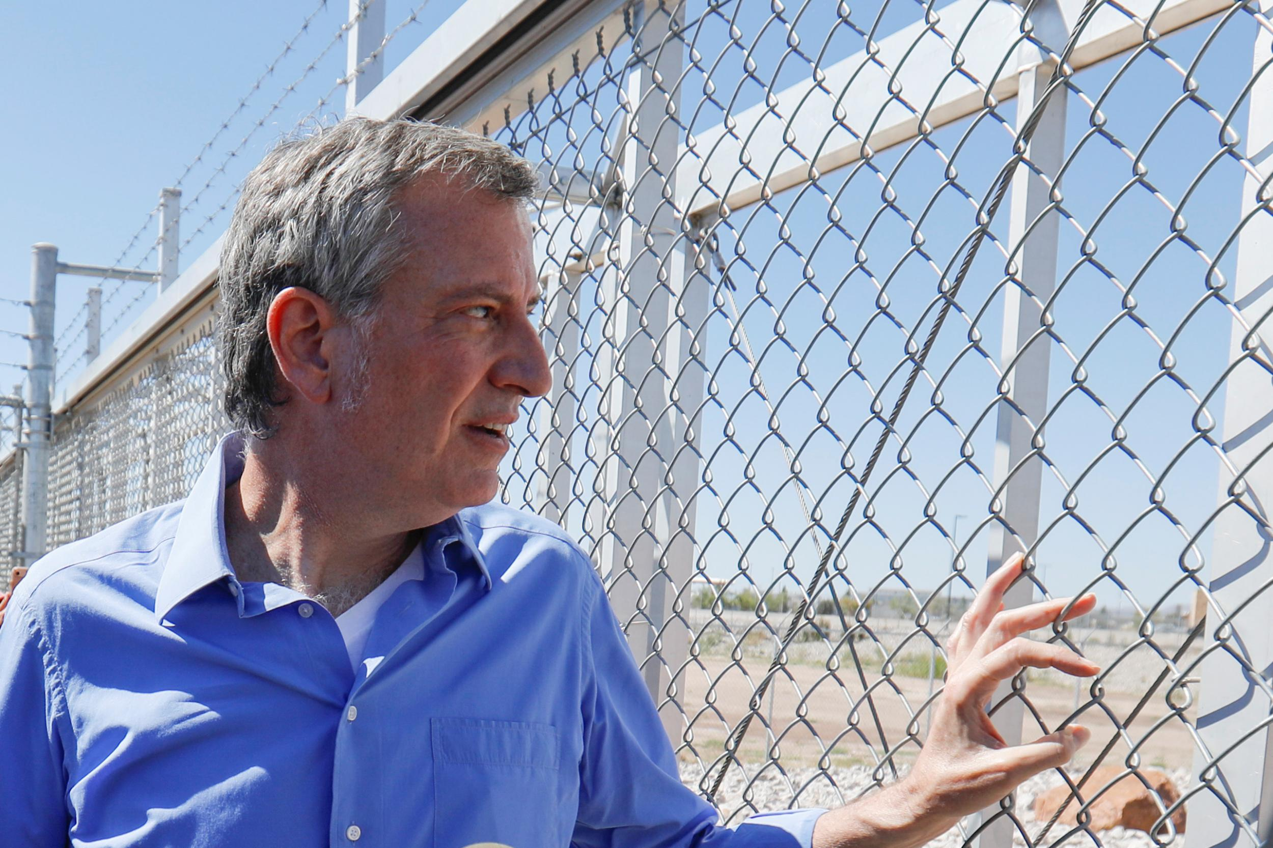 NYC mayor 'crosses border illegally' after being denied entrance to immigrant detention centre | The Independentindependent_brand_ident_LOGOUntitled