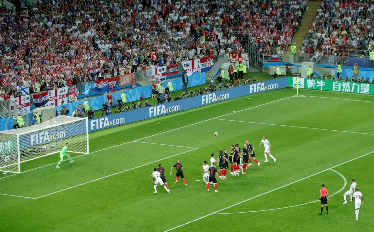 England Vs Croatia Why The Memory Of Kieran Trippier S Redundant World Cup Free Kick Will Last Even In Defeat The Independent The Independent