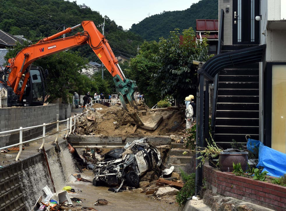 Disasters set off by torrential rains have become more frequent in Japan, perhaps due to global warming, experts say
