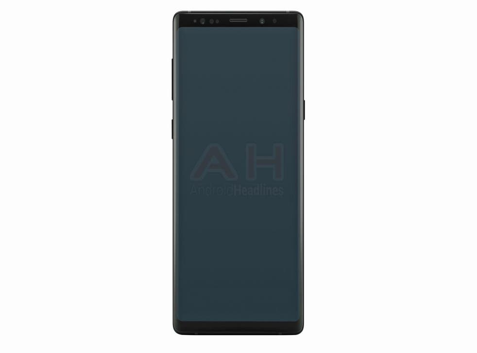 Is this the Samsung Galaxy Note 9? It looks almost identical to the Galaxy Note 8 but should feature much-improved specs