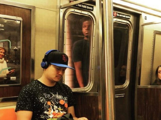 Man filmed subway surfing in New York arrested by police