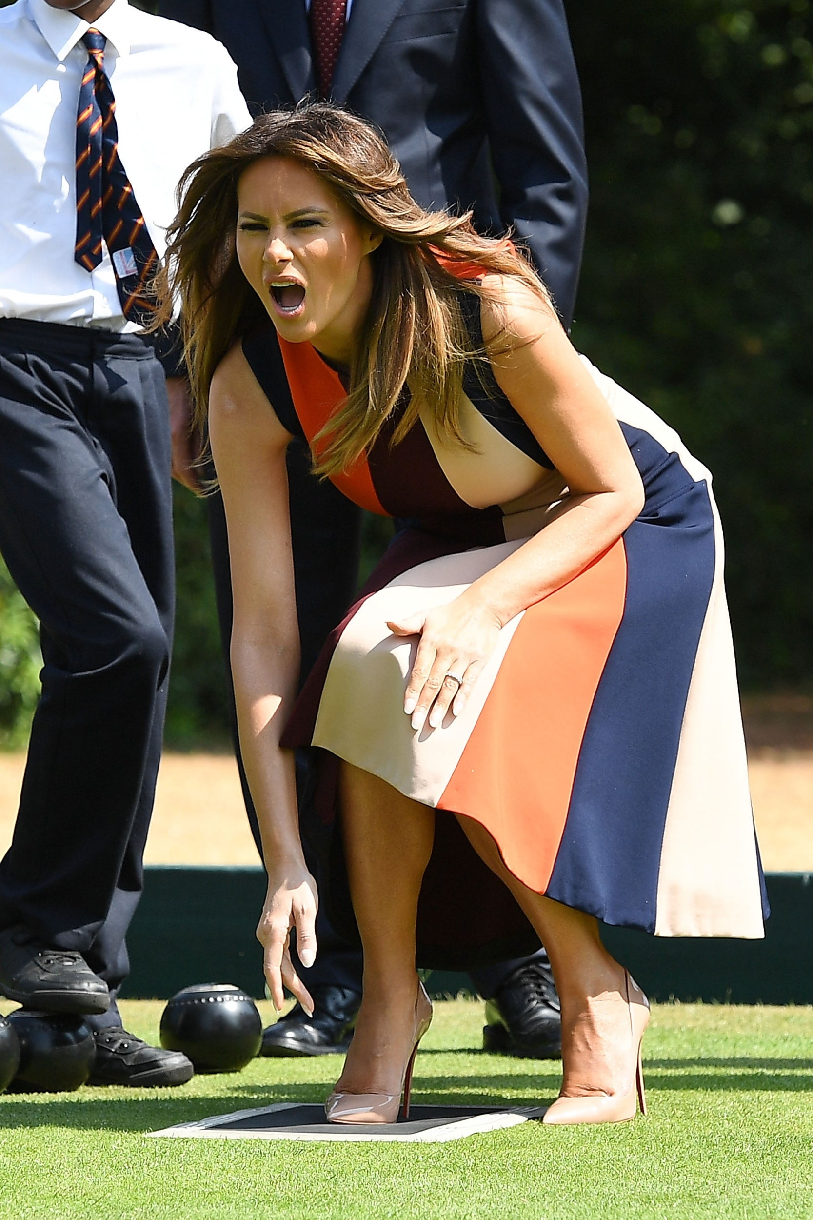 Melania Trump who messed up 73
