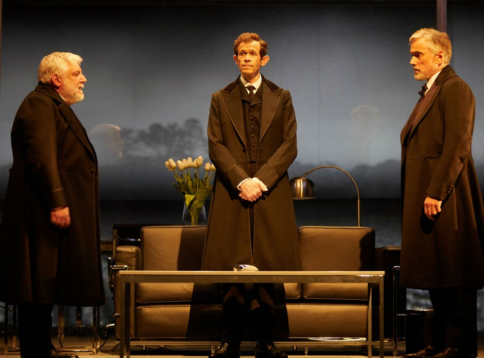 Simon Russell Beale, Adam Godley and Ben Miles magnificently bring to life this 164-year saga