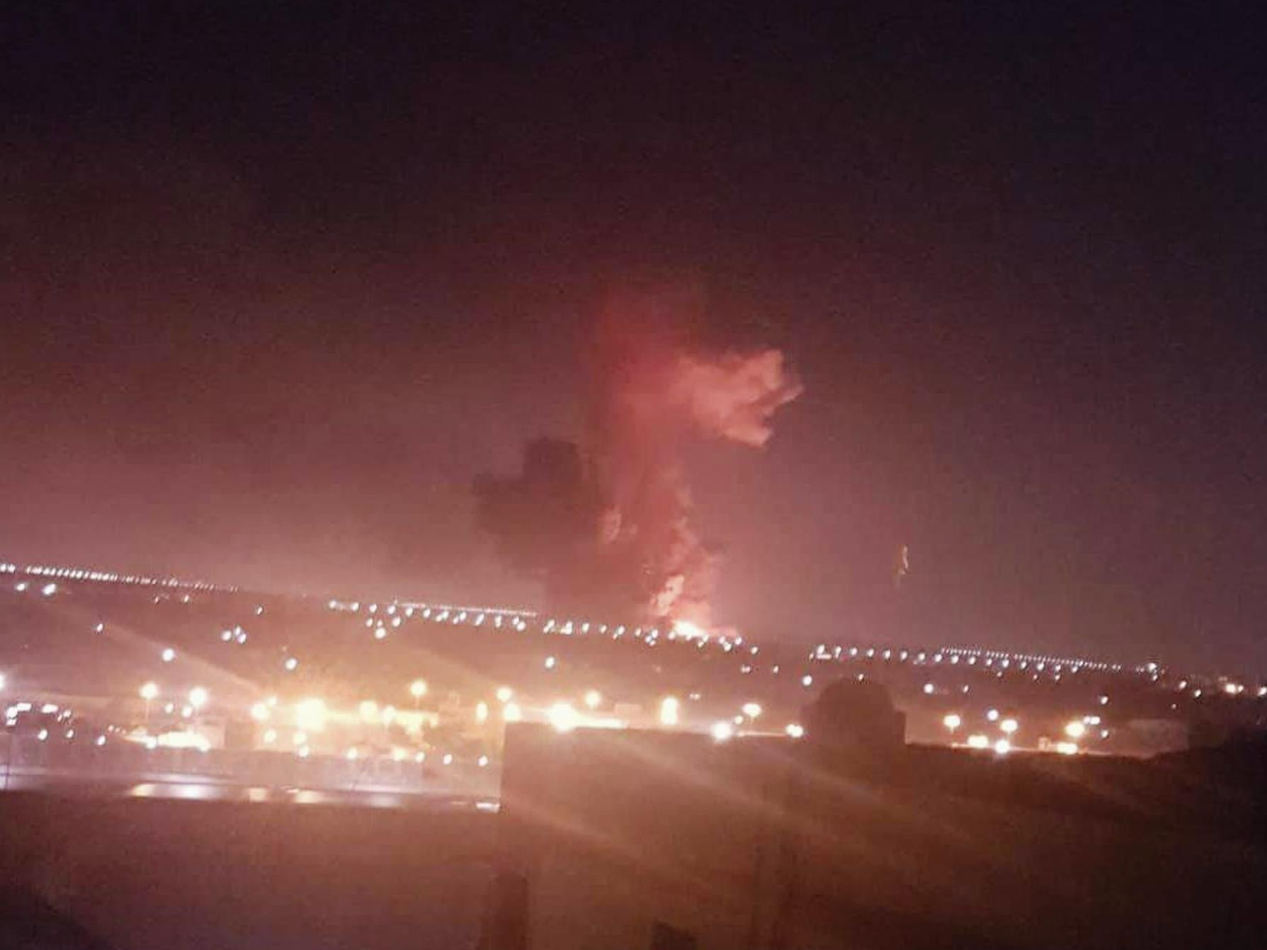 Cairo explosion: 12 injured in chemical factory blast near airport