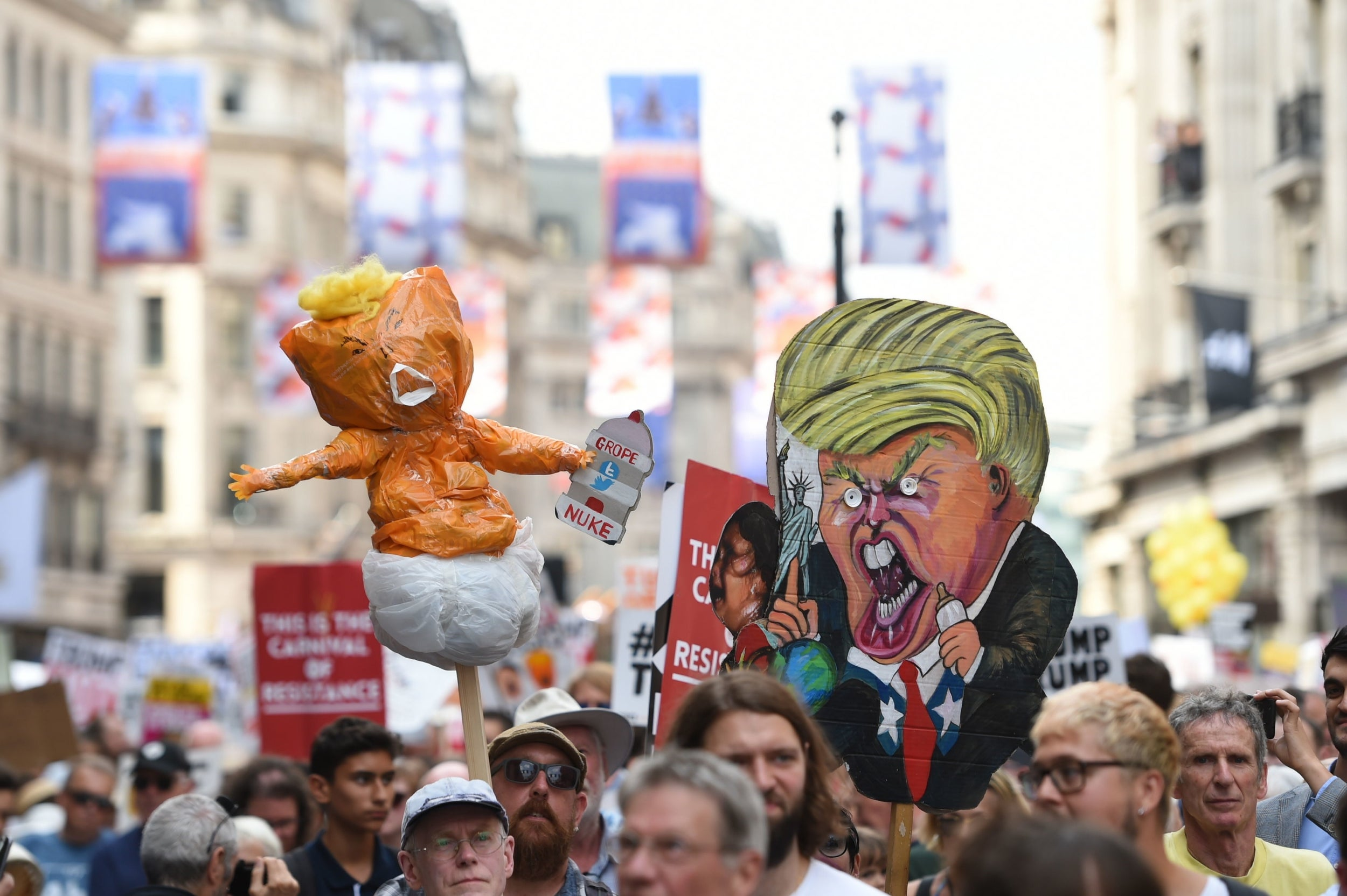 Bear fuck protest
