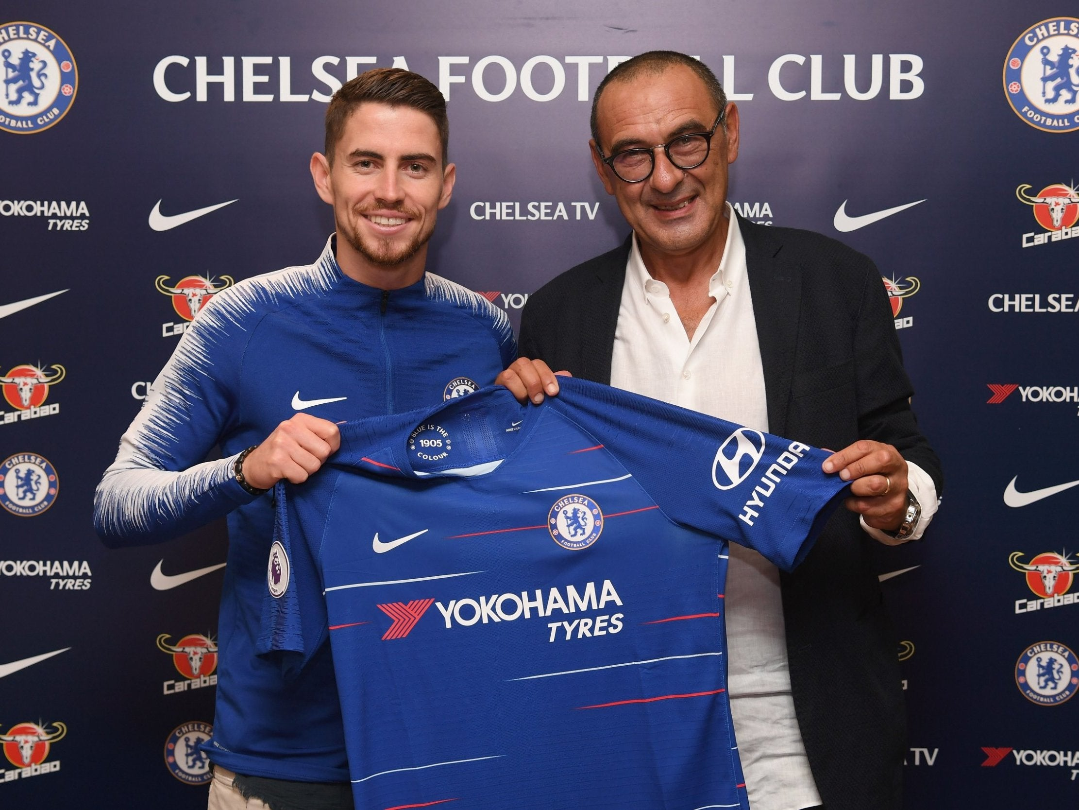 best service d56e5 3b22c Jorginho joins Chelsea in £57m five-year deal to follow ...