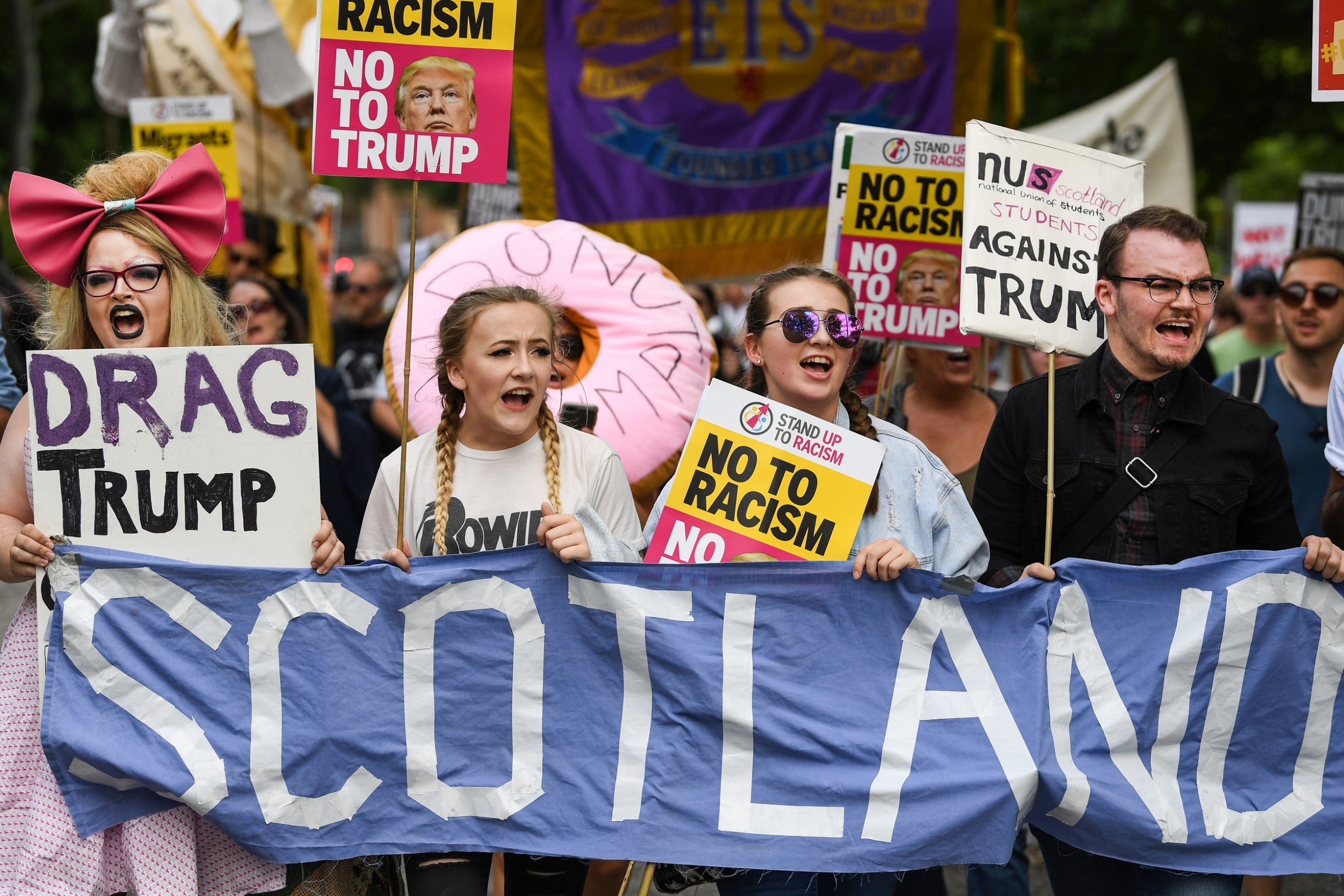25e71bfdc1 Trump's UK visit cost British taxpayers nearly £18m in extra police ...