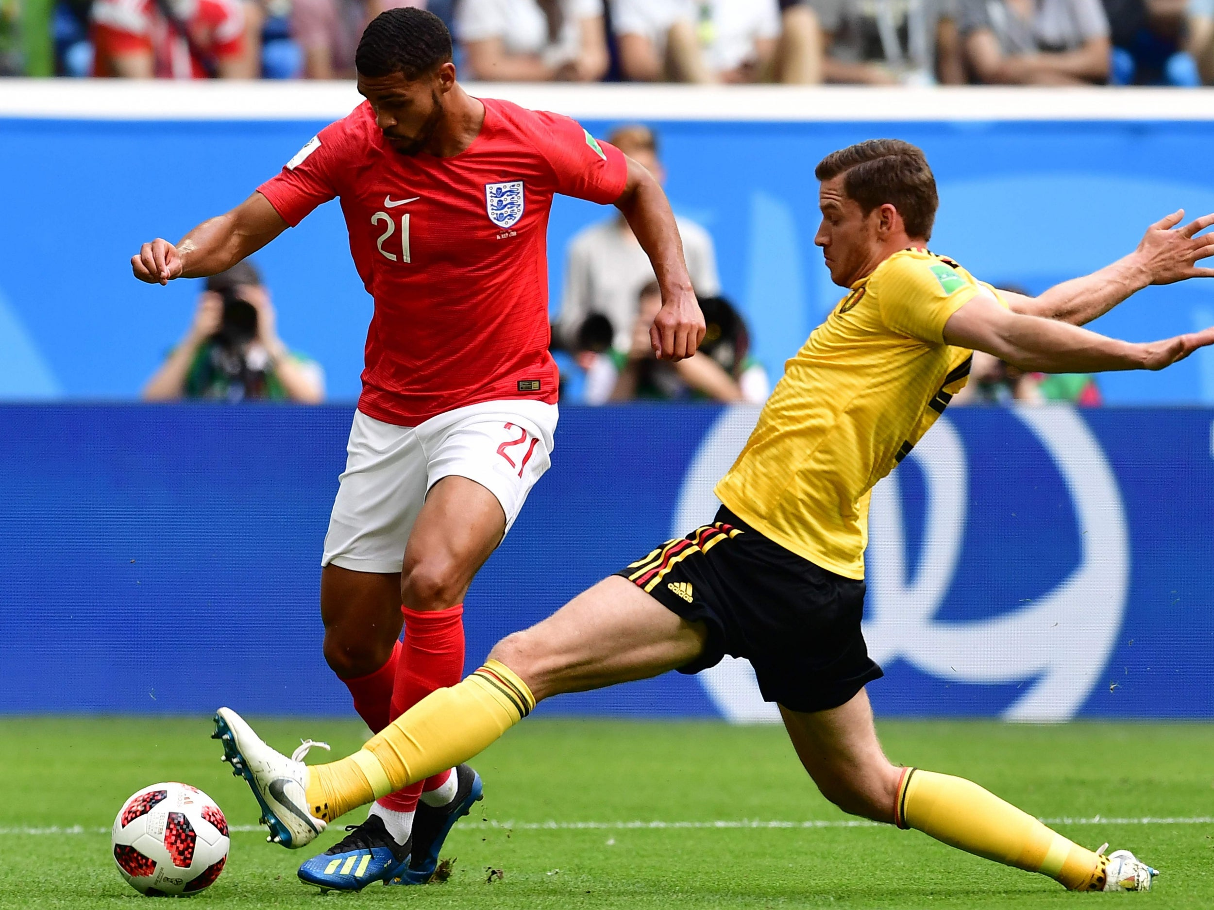 England vs Belgium player ratings  Eden Hazard and Kevin De Bruyne ... 4ede59c87