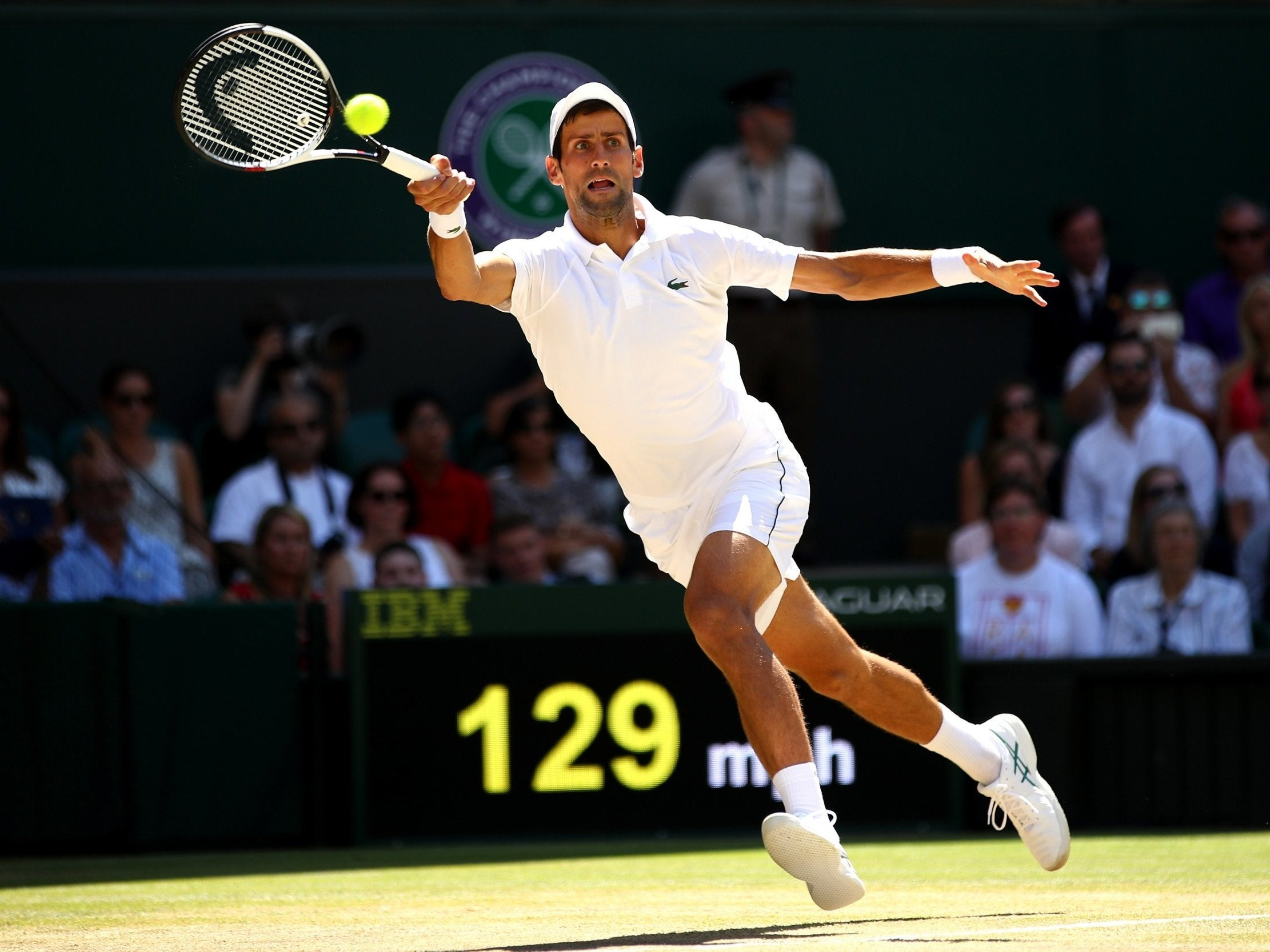 Wimbledon 2018 final LIVE: Novak Djokovic vs Kevin ...