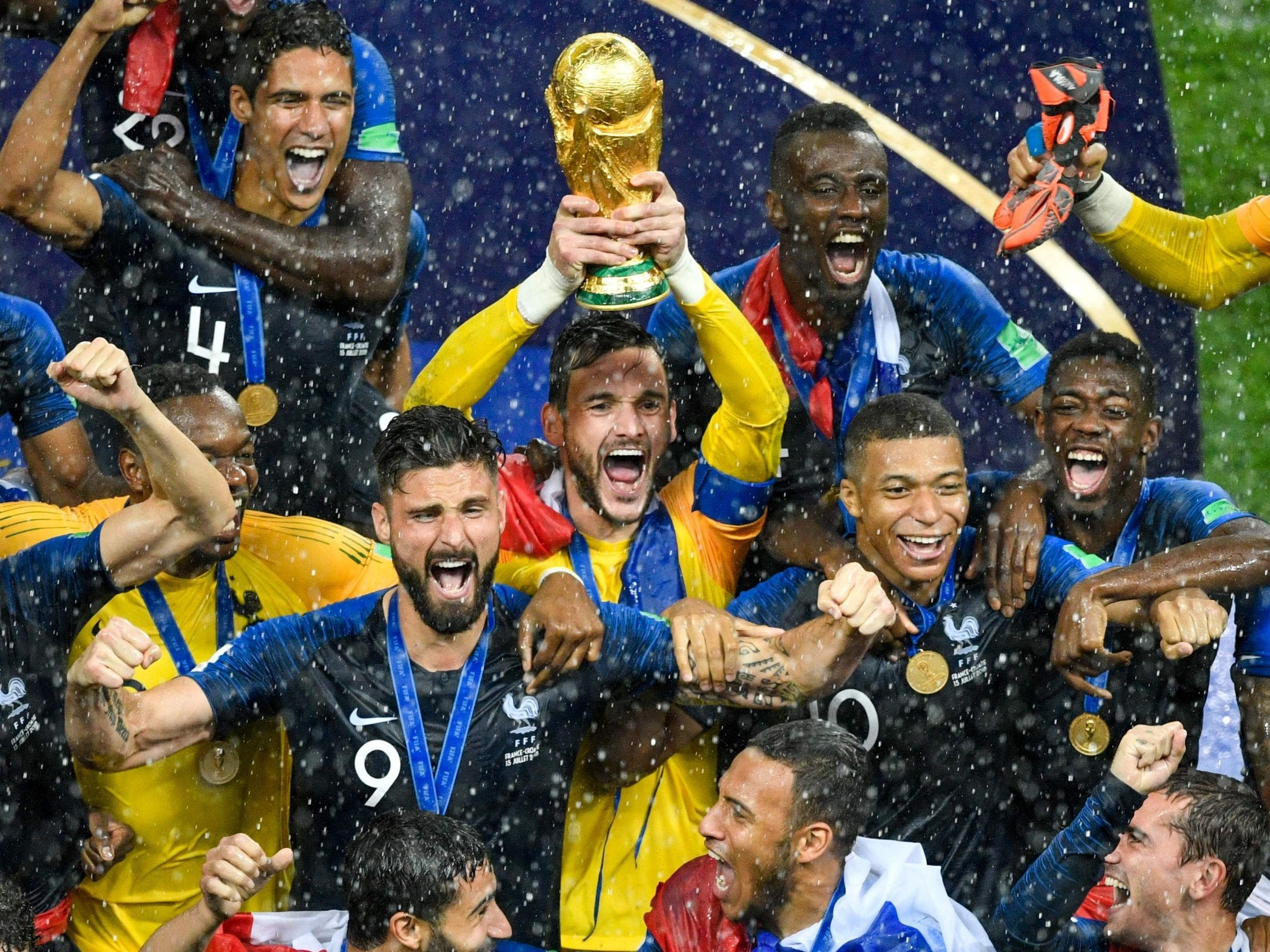 World Cup  France Beat Brave Croatia To Win Final And Achieve Football Immortality The Independent