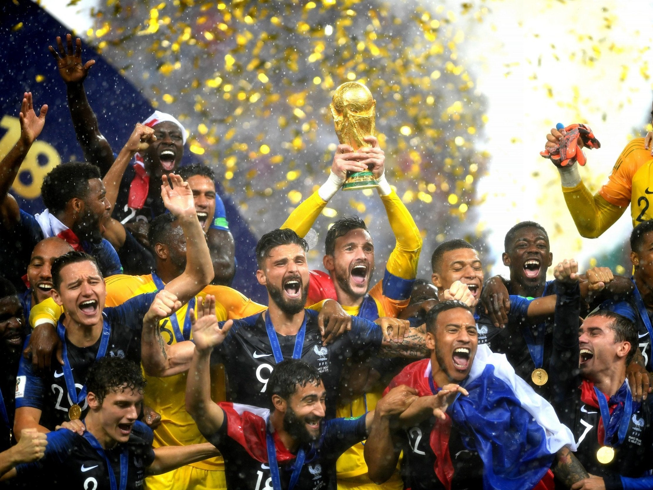 World Cup final 2018 LIVE France vs Croatia  France win the World Cup after  six-goal thriller with Croatia - as it happened  b0f2e86c016a7