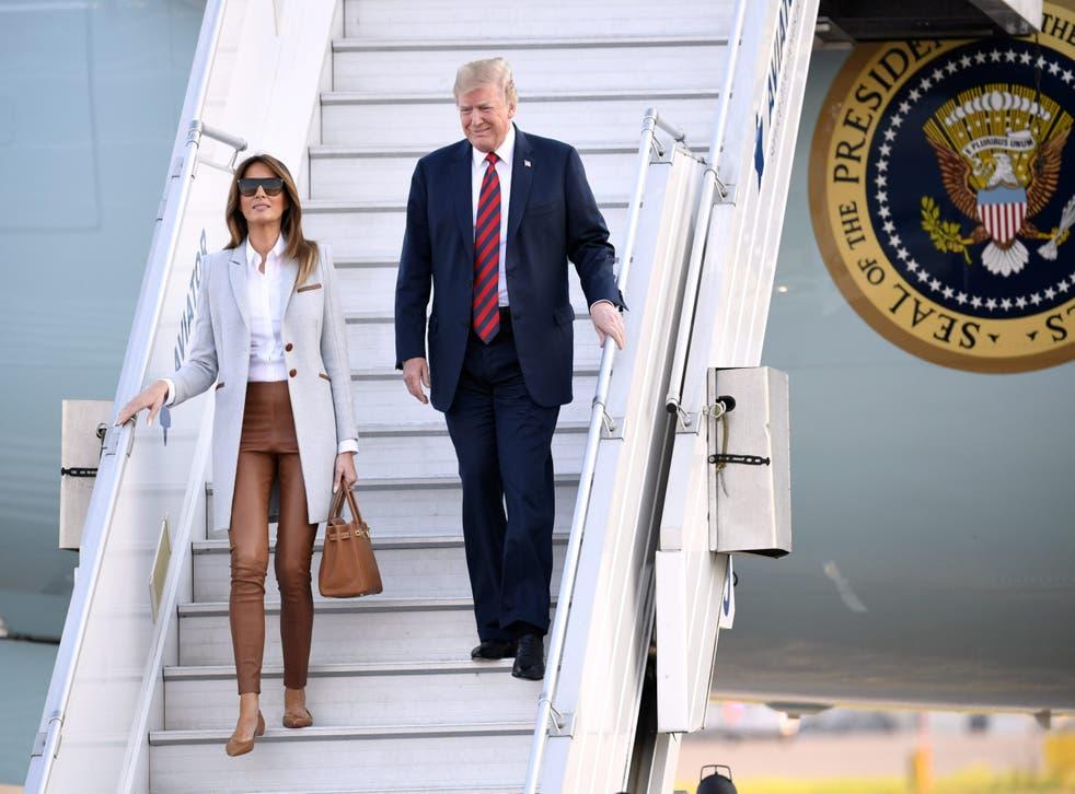 Melania Trump's parents, Viktor and Amalija Knavs, were granted US citizenship on Thursday