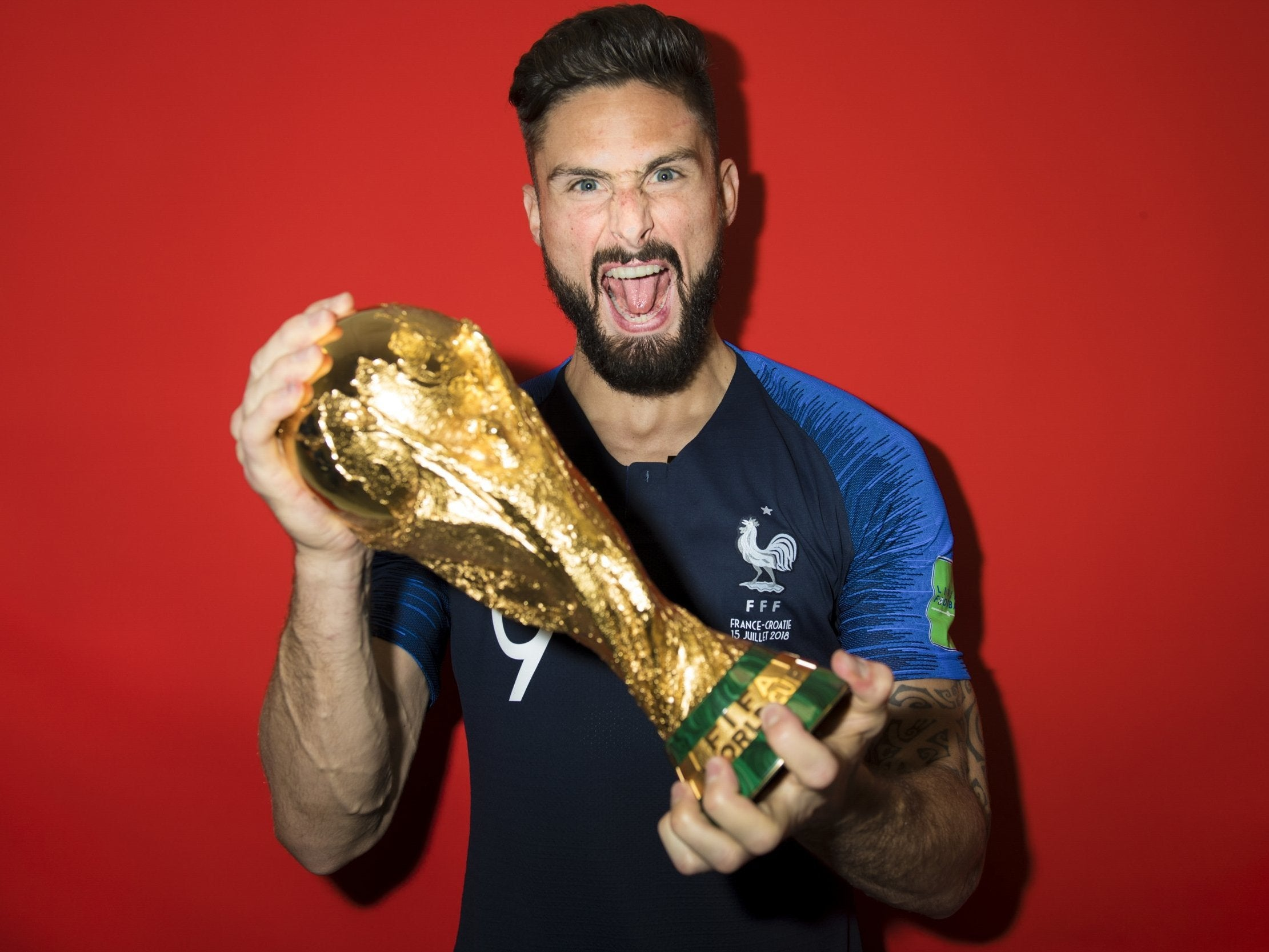 World Cup 2018: Finally vindicated Olivier Giroud delights in 'the ...