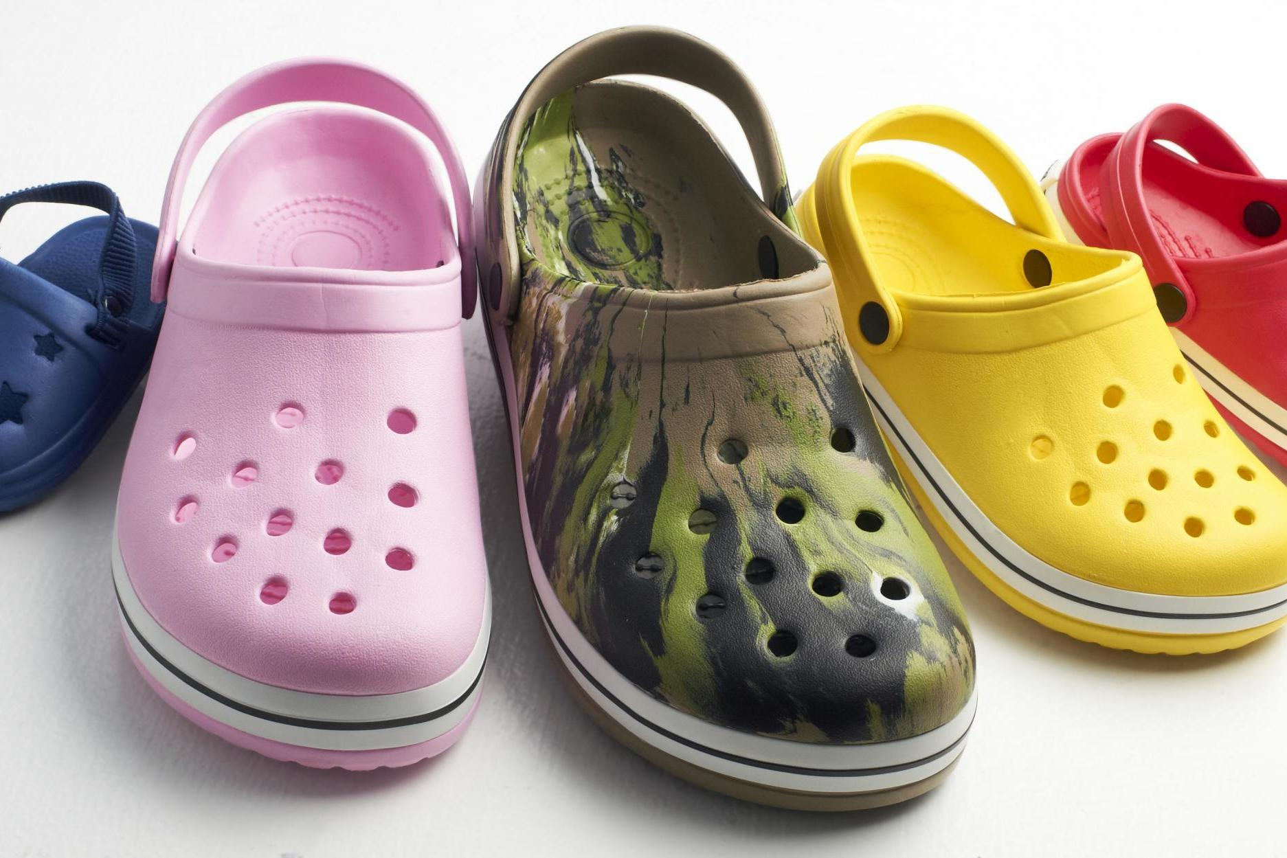 High-heeled Crocs are now a thing - has fashion finally gone too far?
