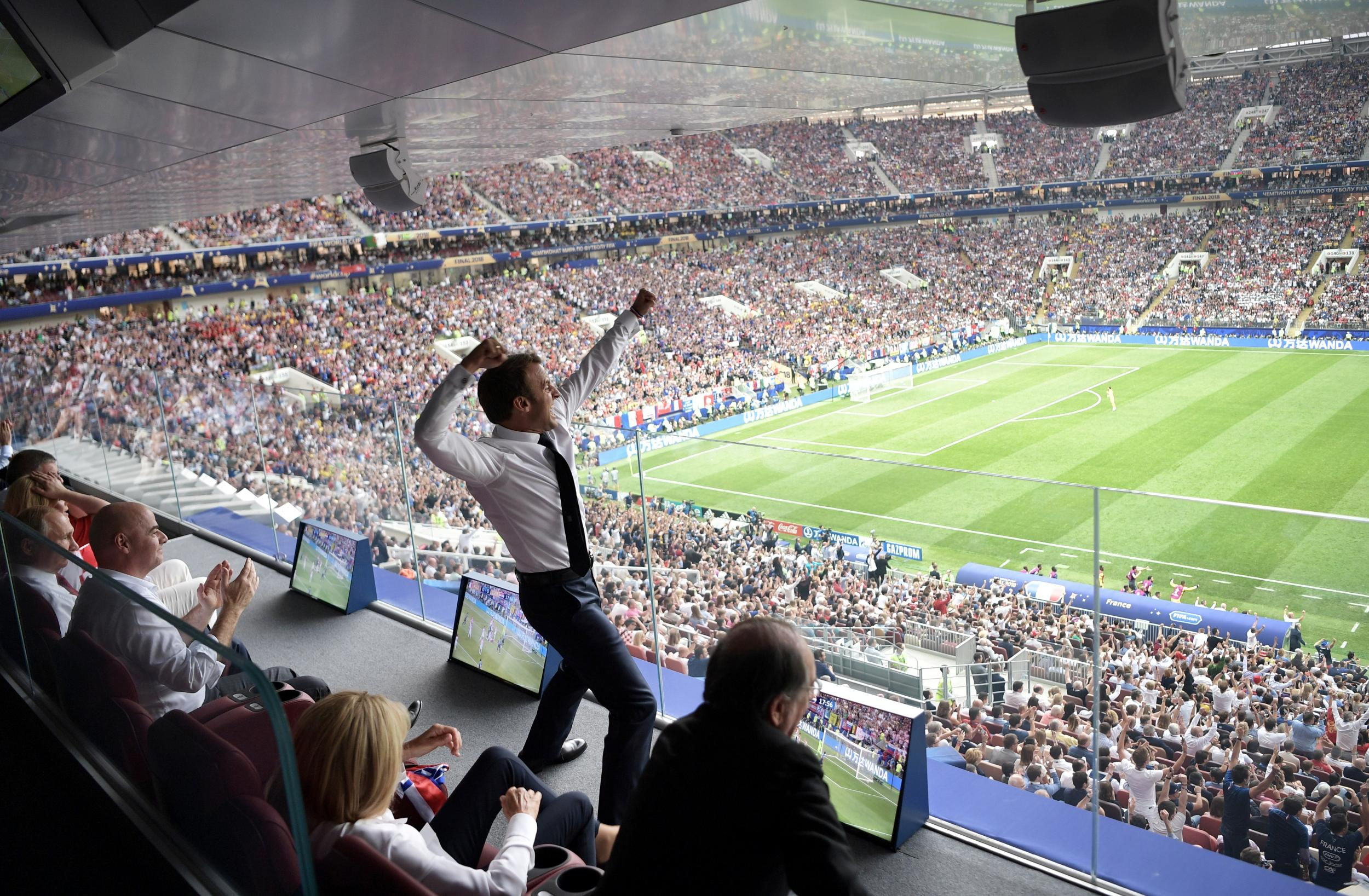World Cup 2018 Emmanuel Macron Hopes For Approval Rating Boost In Wake Of France Victory The Independent The Independent