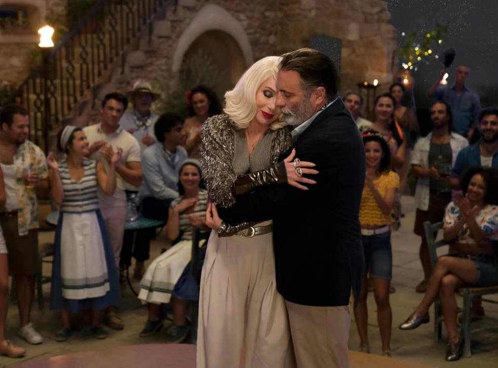 Cher duets with Andy Garcia in a show-stealing scene from the upbeat sequel