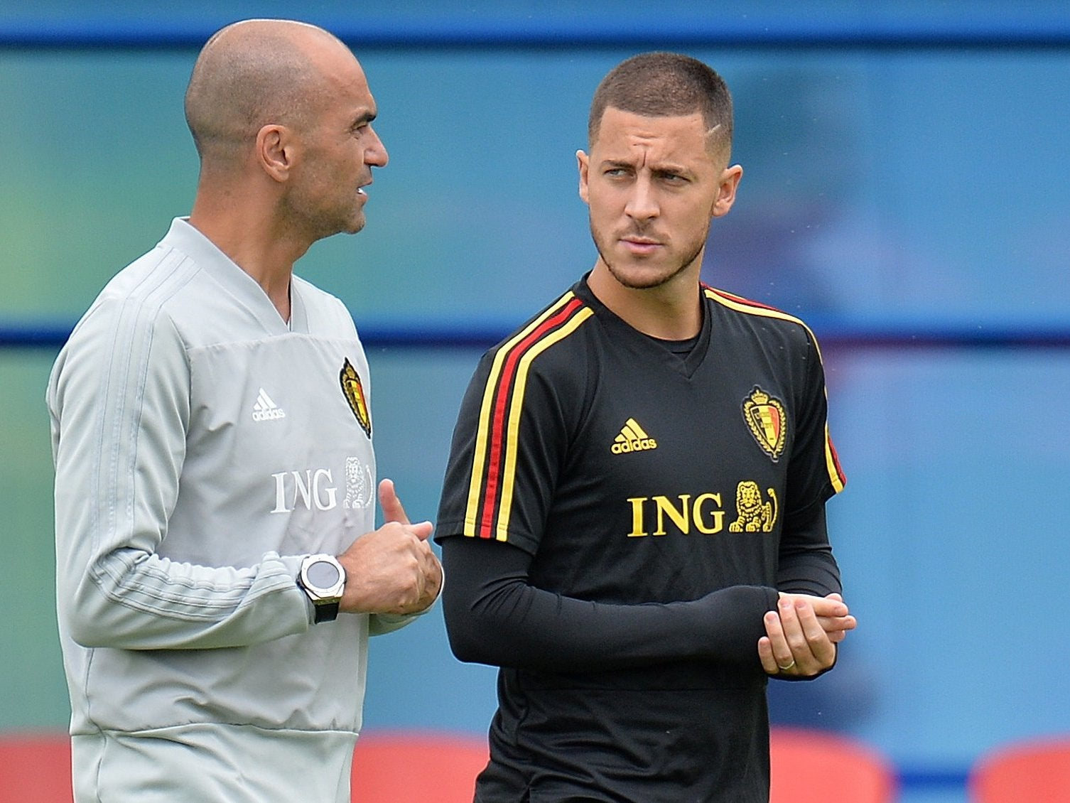 Chelsea transfer news: Eden Hazard urged to join Real Madrid by Belgium manager Roberto Martinez